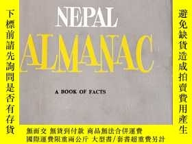 二手書博民逛書店NEPAL罕見ALMANAC A BOOK OF FACTSY1