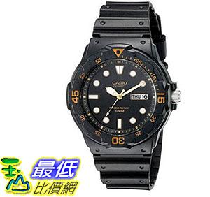 [美國直購] 手錶 Casio Mens MRW200H-1EV Dive Watch with Black Band