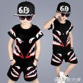韓版男童夏裝套裝短袖男裝兒童小孩 優家小鋪