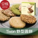 【豆嫂】日本零食 Tivoli Tivon 夢野薄脆圓型餅乾禮盒(60枚)