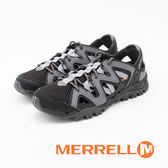 MERRELL (女)TETREX CREST WRAP水陸兩棲健走鞋-灰黑