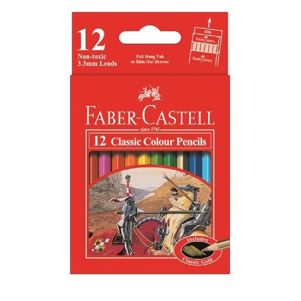 色鉛筆 Faber-Castell輝柏 115851 12色短桿油性鉛筆【文具e指通】 量販團購