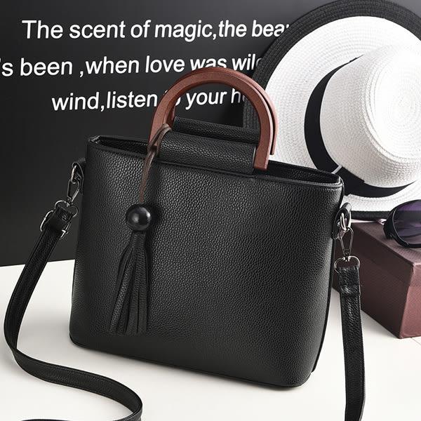 斜背手提包 OL時尚女側背包【非凡上品】t1094