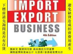 二手書博民逛書店Building罕見an Import   Export Business, 4th EditionY4100