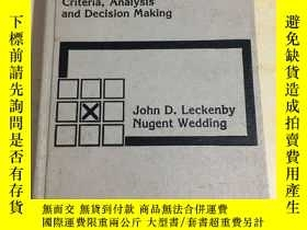 二手書博民逛書店ADVERTISNG罕見MANAGEMENT: Criteria,Analysis and Decision Ma