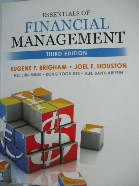 【書寶二手書T6/大學商學_XBJ】Essentials of Financial Management_Brigham