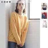 針織上衣 圓領毛衣 羔羊毛 秋冬 可手洗 現貨 免運費 日本品牌【coen】