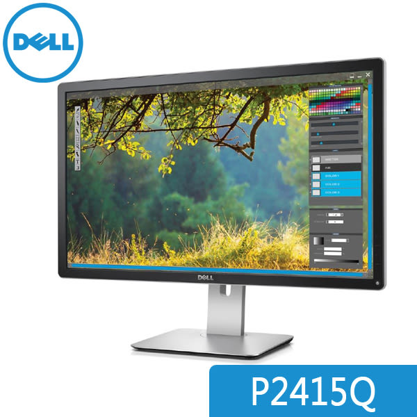 【免運費-加購】DELL 戴爾 P2415Q 24型 4K IPS 顯示器 廣視角 廣色域 三年保 優質面板保證