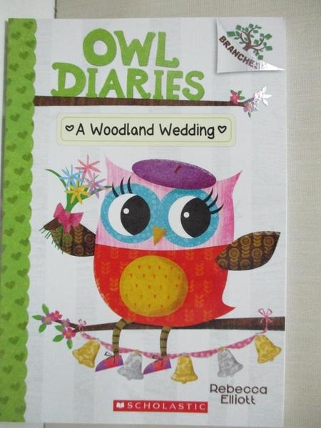 【書寶二手書T1/原文小說_BNR】A Woodland Wedding_Elliott, Rebecca
