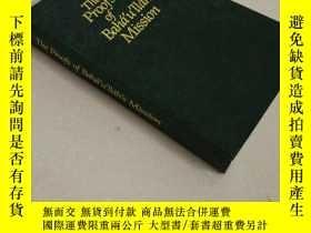 二手書博民逛書店The罕見proofs of Bahaullah missionY194098