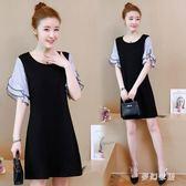 大尺碼洋裝 韓版度假風顯瘦大碼連衣裙高貴QW1287『夢幻家居』