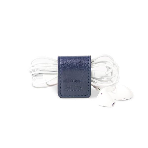 【創意小物】多功能皮革磁鐵夾 Smart Holder - 海軍藍 Navy 鈔票夾、磁鐵鑰匙圈、集線器、書籤