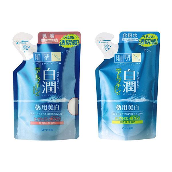 日本 Rohto 肌研 白潤美白化妝水(170ml)/乳液(140ml)補充包◎花町愛漂亮◎HE