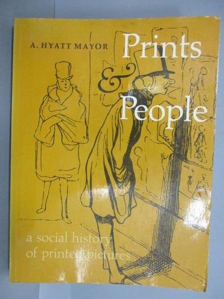 【書寶二手書T1/藝術_PFM】Prints & People