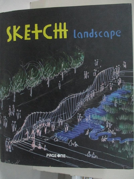 【書寶二手書T1/藝術_EZ6】SKETCH LANDSCAPE_LOFT PUBLICATIONS