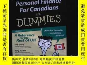 二手書博民逛書店(外文書)Personal罕見Finance For Canad
