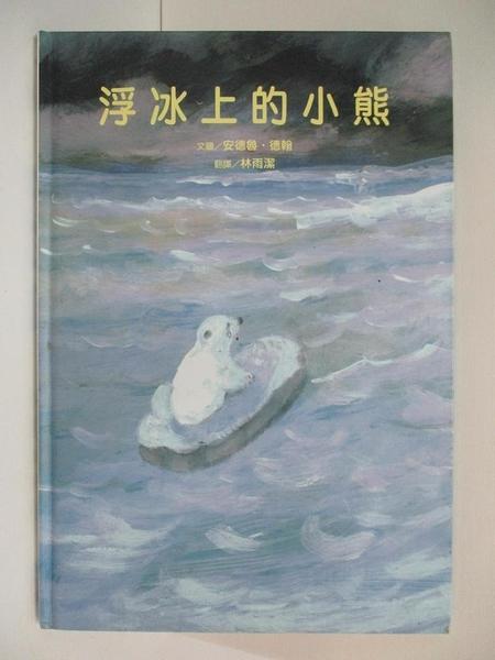 【書寶二手書T1/少年童書_EYK】浮冰上的小熊_安德魯.德翰