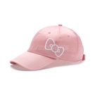 Puma x Hello Kitty Cap 帽子 粉紅 白 女款 老帽 棒球帽 凱蒂貓 蝴蝶結 【PUMP306】 02272101