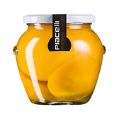 保加利亞Piacelli蜜桃玻璃罐頭560g