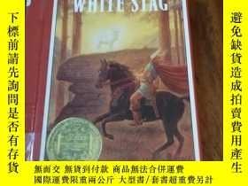 二手書博民逛書店THE罕見WHITE STAG(精裝32開本,精美插圖本)Y12