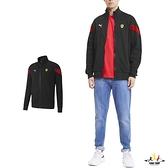 Puma 黑 外套 男 棉質外套 聯名款 運動 休閒 健身 慢跑 長袖外套 立領外套 59794902