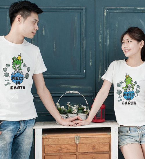 【Sylvia 典藏精品】Meet in earth - 情侶裝
