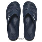 PUMA 拖鞋 夾腳拖 防水 橡膠 深藍色 男女 (布魯克林) 37509804
