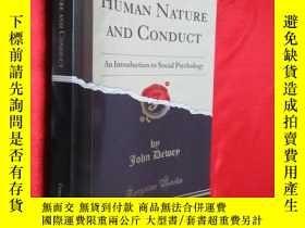 二手書博民逛書店Human罕見Nature and Conduct - An I