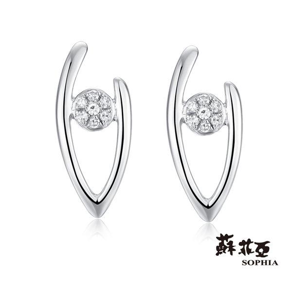 [搭配達人7折起]蘇菲亞SOPHIA - 甜蜜回憶鑽石耳環
