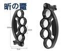 【世明國際】運動相機自拍指環支架 gopro 小蟻 山狗手持四手指支架自拍器