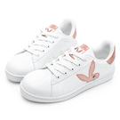 PLAYBOY 簡約格調 兔頭休閒貝殼鞋-玫瑰金(Y6226)