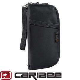 【Caribee 澳洲 DOCUMENT WALLET護照錢包 黑】 CB- 1226/護照包/錢包/小錢包