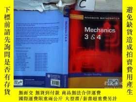 二手書博民逛書店Mechanics罕見3&4 機械3和4(104)Y203004