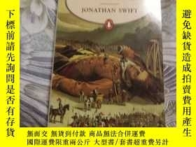 二手書博民逛書店【英文原版保真包罕見】Gulliver s Travels 格列