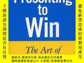二手書博民逛書店Presenting罕見To WinY256260 Jerry Weissman Financial Time