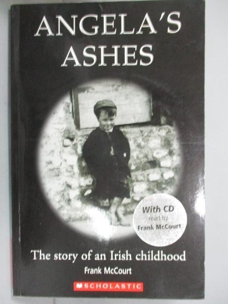 【書寶二手書T4/原文小說_CTR】Angela s Ashes_Scholastic UK