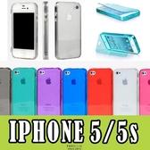 E68精品館 iphone5s透明 殼 糖果 iphone 5 矽膠 翻蓋 保護 TPU 清水套 保護套 軟殼 果凍 殼 掀蓋