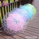 動物卡通全自動兒童雨傘男女童防曬透明公主折疊超輕小學生。