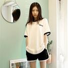 閨蜜休閒運動服套裝女夏季2021新款韓版學生日系少女兩件套洋氣潮「時尚彩紅屋」