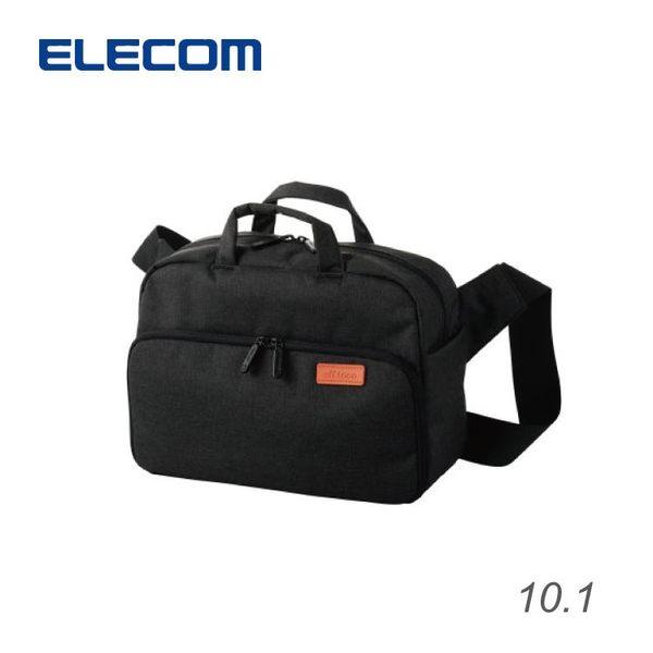 【加也】ELECOM DGB-S024系列 單眼相機包、側背包 雙層收納 一機二鏡