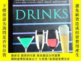 二手書博民逛書店Drinks罕見by Vincent Gasnier 英文原版精
