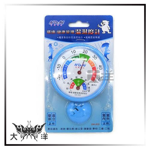 ◤大洋國際電子◢ 聖岡科技 環境/健康管理溫濕度計 GM-80S  溫度計 溼度計 廚房 實驗室 工廠