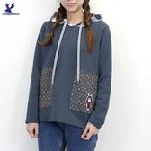 【秋冬新品】American Bluedeer - 刷毛連帽上衣 二色