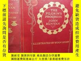 二手書博民逛書店The罕見Pilgrims Progress 含30副彩色插圖