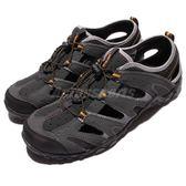 【六折特賣】HI-TEC Tortola Escape 護趾涼鞋 灰 黃 水陸兩棲 戶外涼鞋 男鞋【PUMP306】 O004500054
