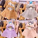 嬰兒披風寶寶斗篷披風加厚秋冬外出兒童男童嬰幼兒嬰兒冬裝女童披肩外套女 小天使