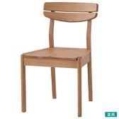 ◎實木餐椅 ALNUS 木座面 LBR NITORI宜得利家居