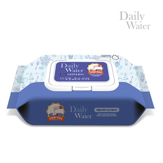 Daily Water韓國居家型萬用紙抹布(加大款) (有效期限:2019/11月)