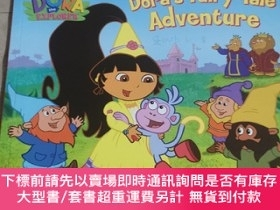 二手書博民逛書店Dora s罕見Fairy-Tale Adventure[英文繪本]Y283241 Nickelodeon(尼