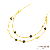 J'code真愛密碼 仙草泡泡黃金/瑪瑙/水晶項鍊
